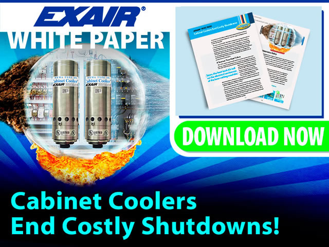 EXAIR White Paper: Cabinet Coolers End Costly Shutdowns
