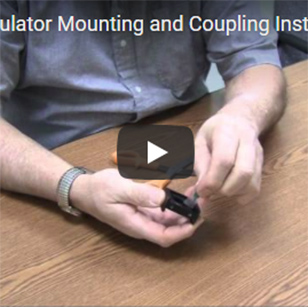 Filters - Installing a Mounting and Coupling Bracket
