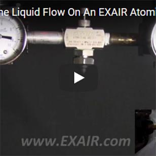 Atomizing Nozzles - Adjusting the Liquid Flow