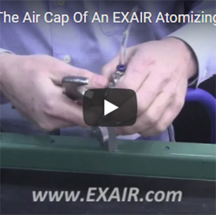 Atomizing Nozzles - Changing the Air Cap