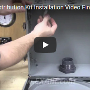 Cabinet Coolers - Installing a Cold Air Distribution Kit
