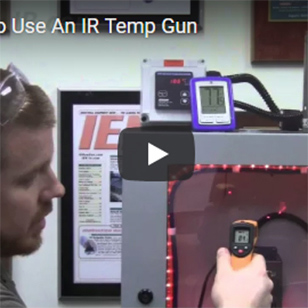 Cabinet Coolers - Don't Use an IR Temp Gun