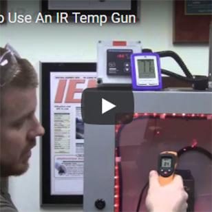 Cabinet Coolers - Don't Use an IR Temp Gun