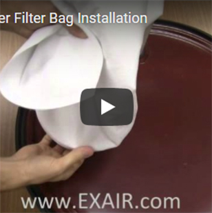 Chip Trapper - Filter Bag Installation