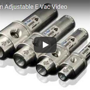 E-Vac - Adjusting an Adjustable E-Vac