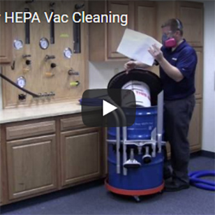 Heavy Duty HEPA Vac - Cleaning