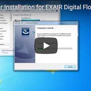 Optimization - Installing Logging Software for the Wireless Digital Flowmeter