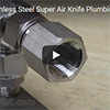Air Knives - Stainless Steel Super Air Knife Plumbing Kit Installation