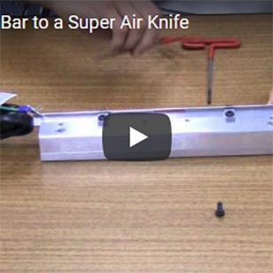 Static Eliminators - Adding an Ion Bar