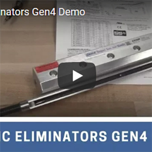 Static Eliminators - Gen4 Demo