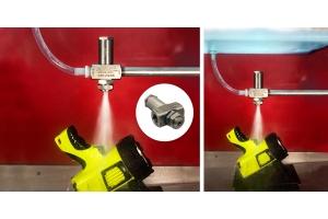 1/2 Npt No Drip Siphon Fed Atomizing Spray Nozzles