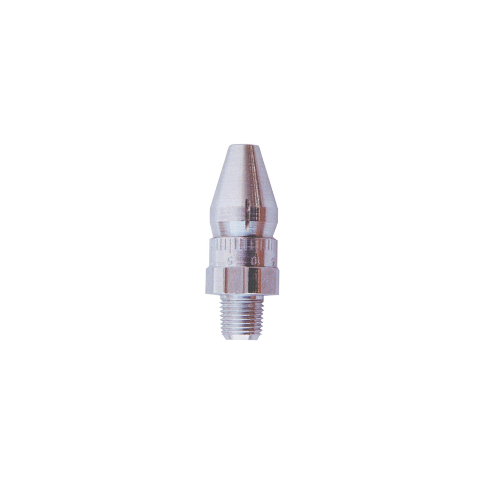 Model 1009 Adjustable Air Nozzle is available in aluminum and Type 303SS materials