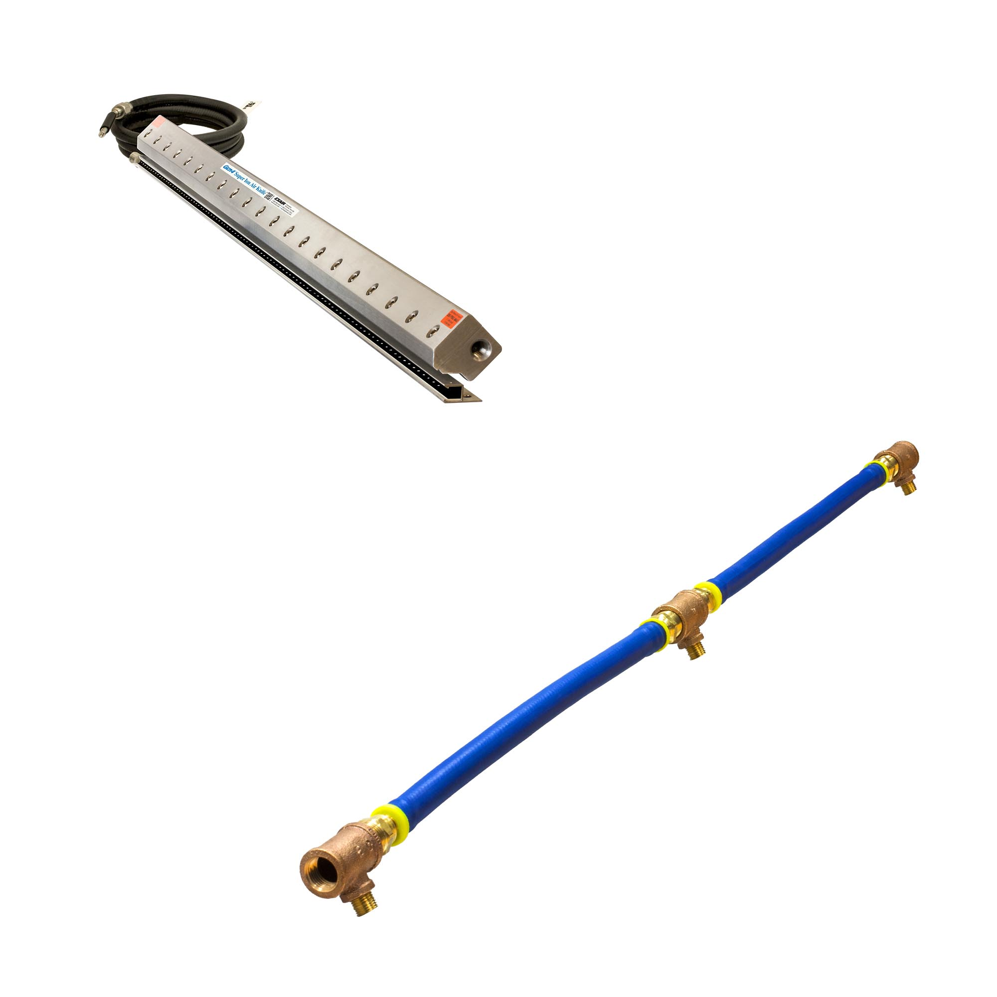 "Model 112060PKI 60"" Gen4 Super Ion Air Knife with Plumbing Kit"