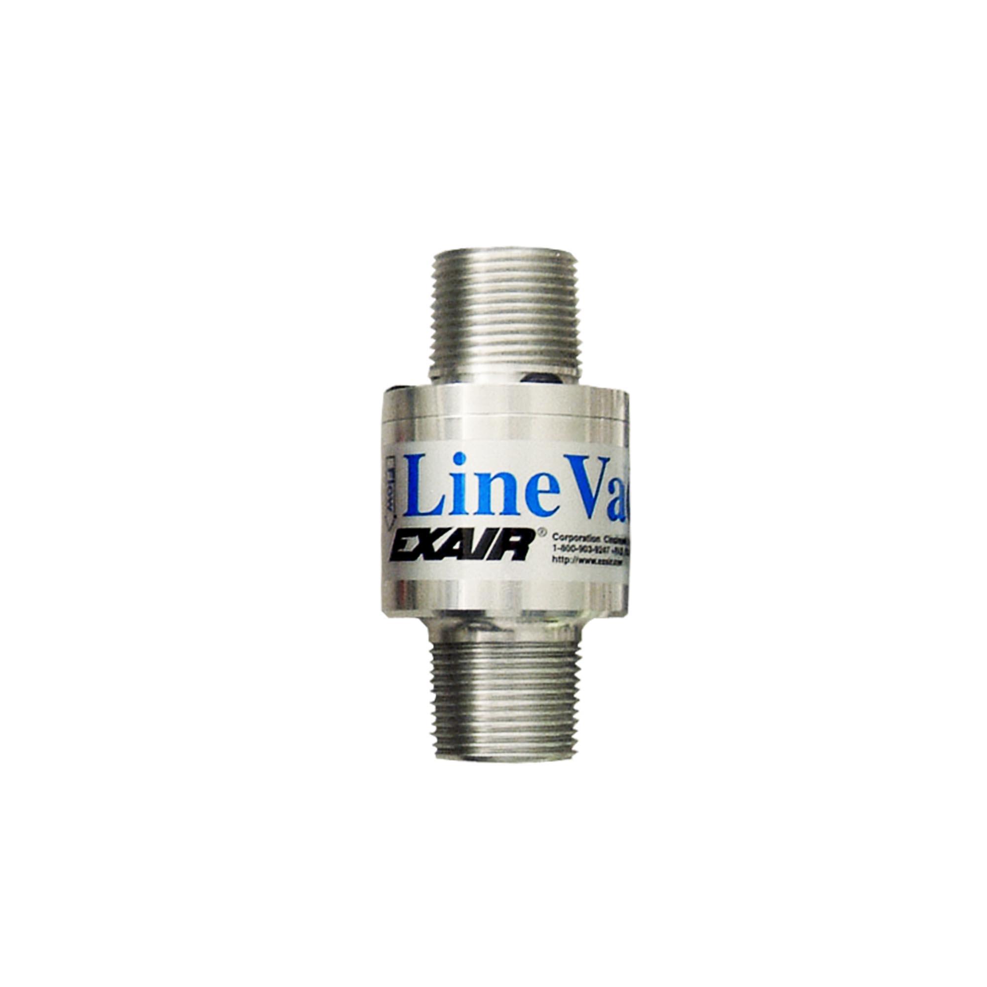 Model 140100 1 NPT Alum. Threaded Line Vac