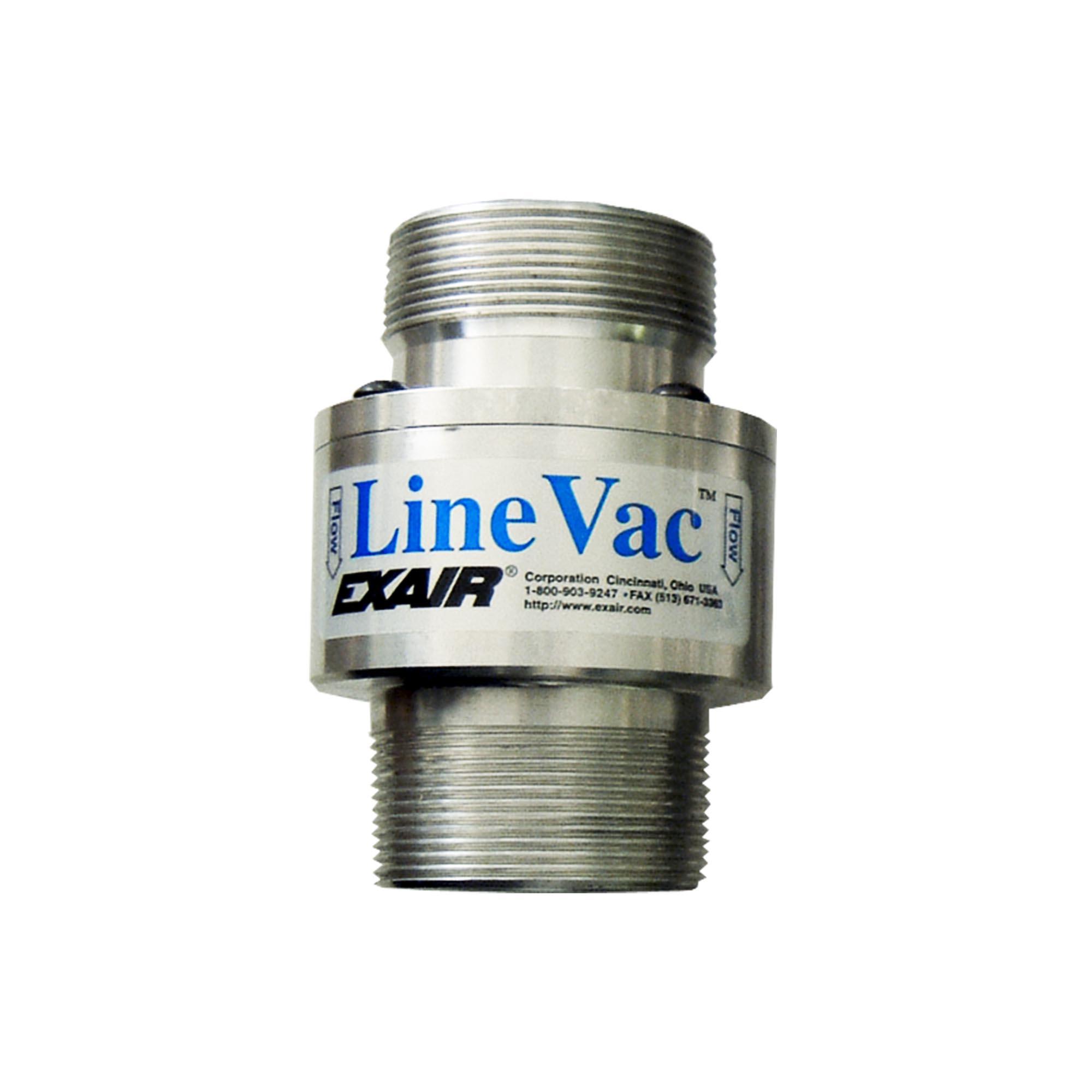 Model 140200 2 NPT Alum. Threaded Line Vac