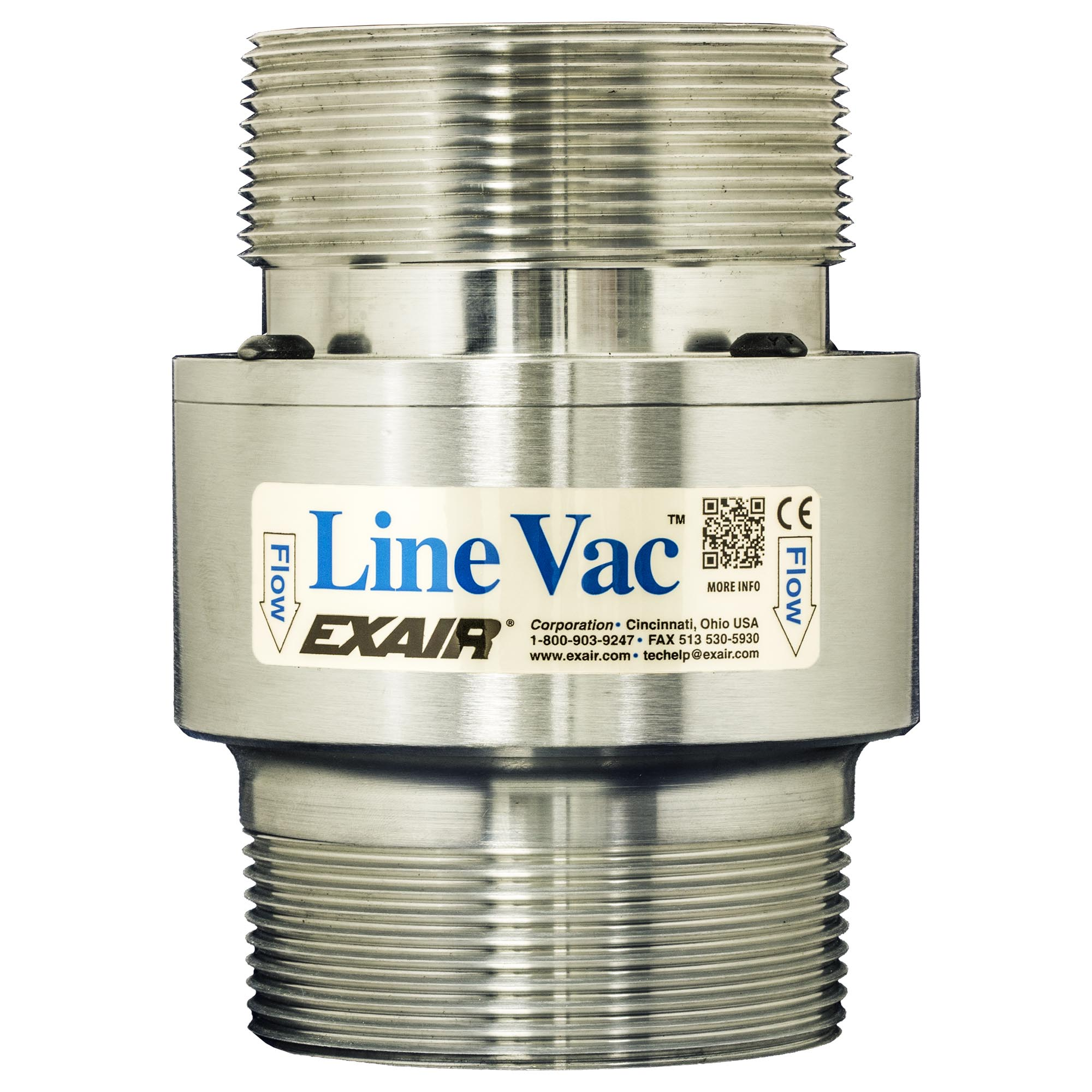 Model 140300 3 NPT Alum. Threaded Line Vac