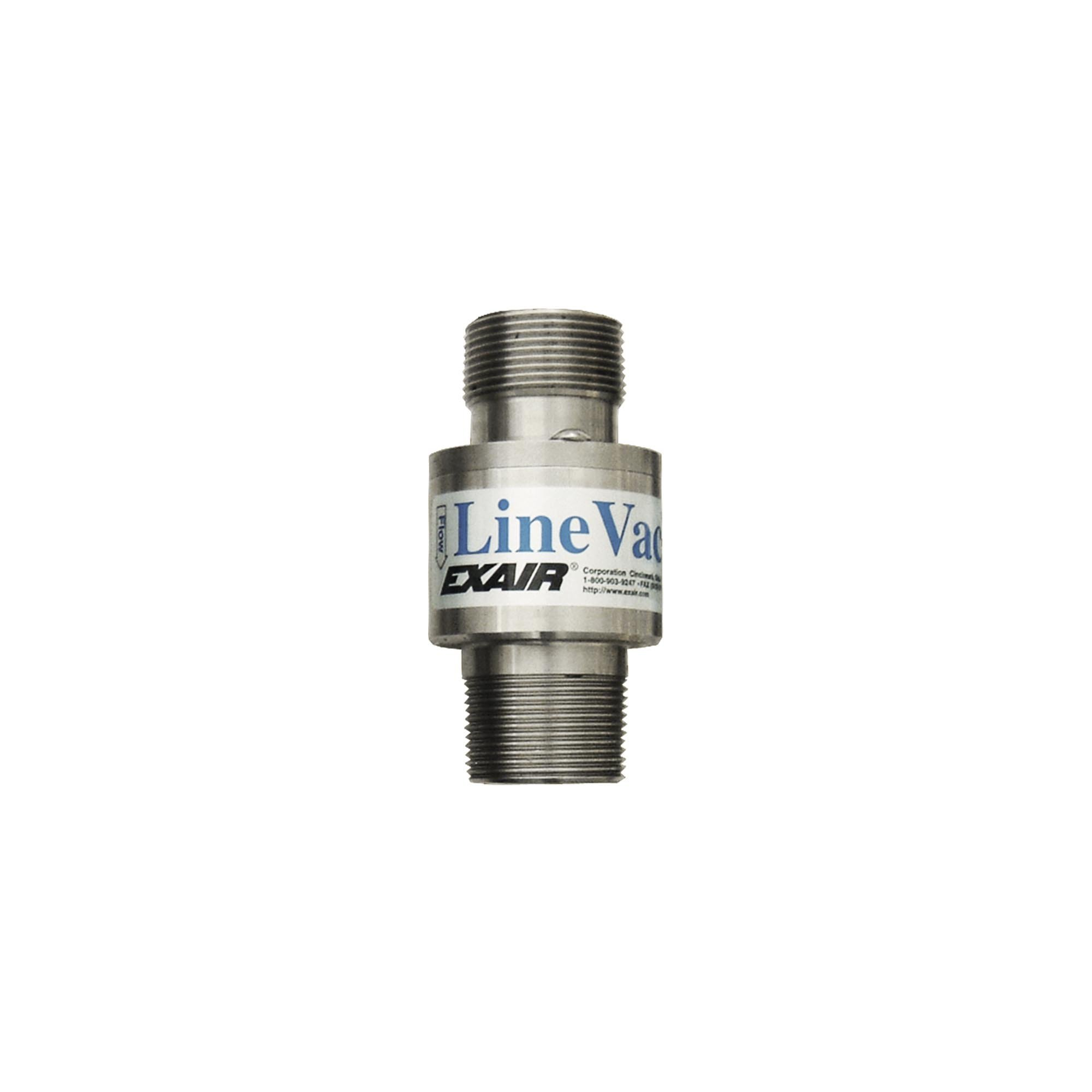 Model 141125 1-1/4 NPT St. St. Threaded Line Vac