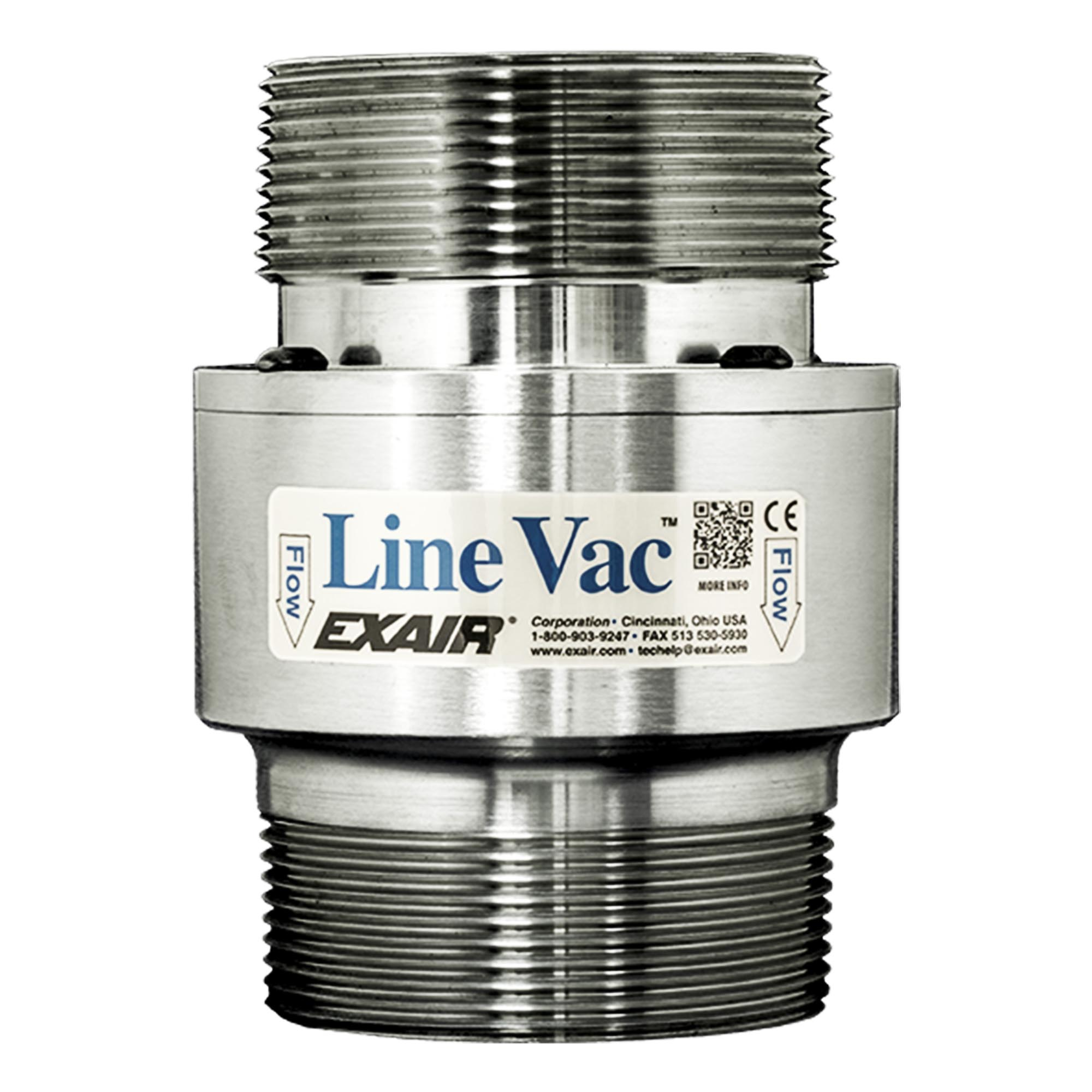 Model 141300 3 NPT St. St. Threaded Line Vac