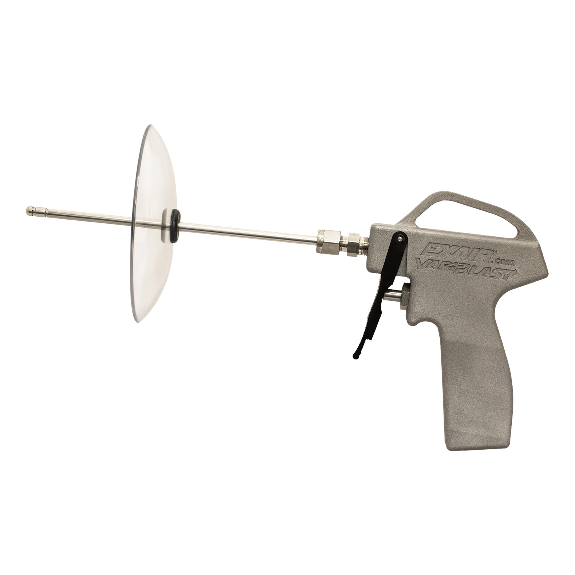 "Model 1604SS-12-CS Variblast Compact Safety Air Gun with Model 1004SS Back Blow Air Nozzle, 12"" Alum. Ext Pipe & Chip Shield"