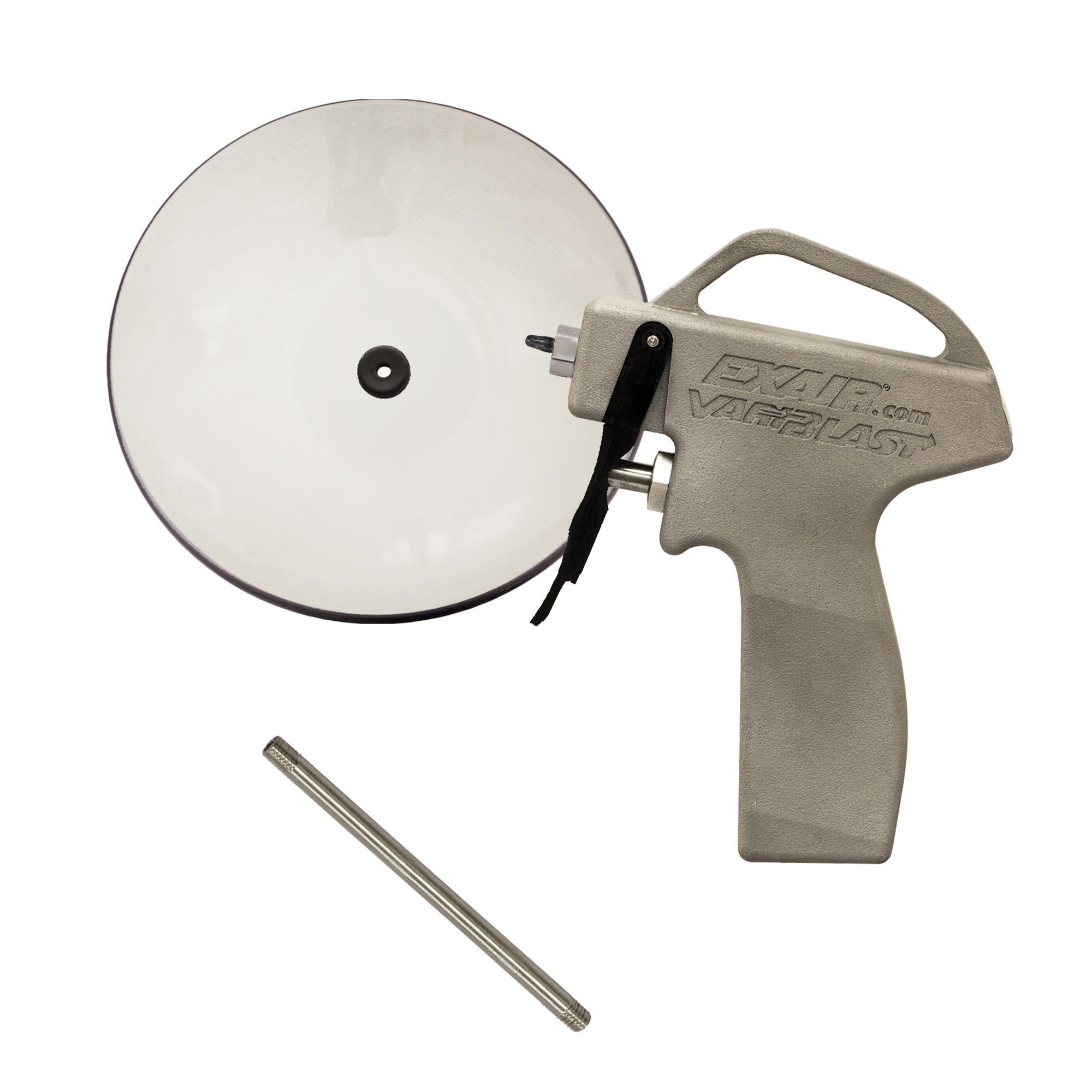"Model 1696-PEEK-12-CS  12"" Variblast Compact Safety Air Gun with Chip Shield"
