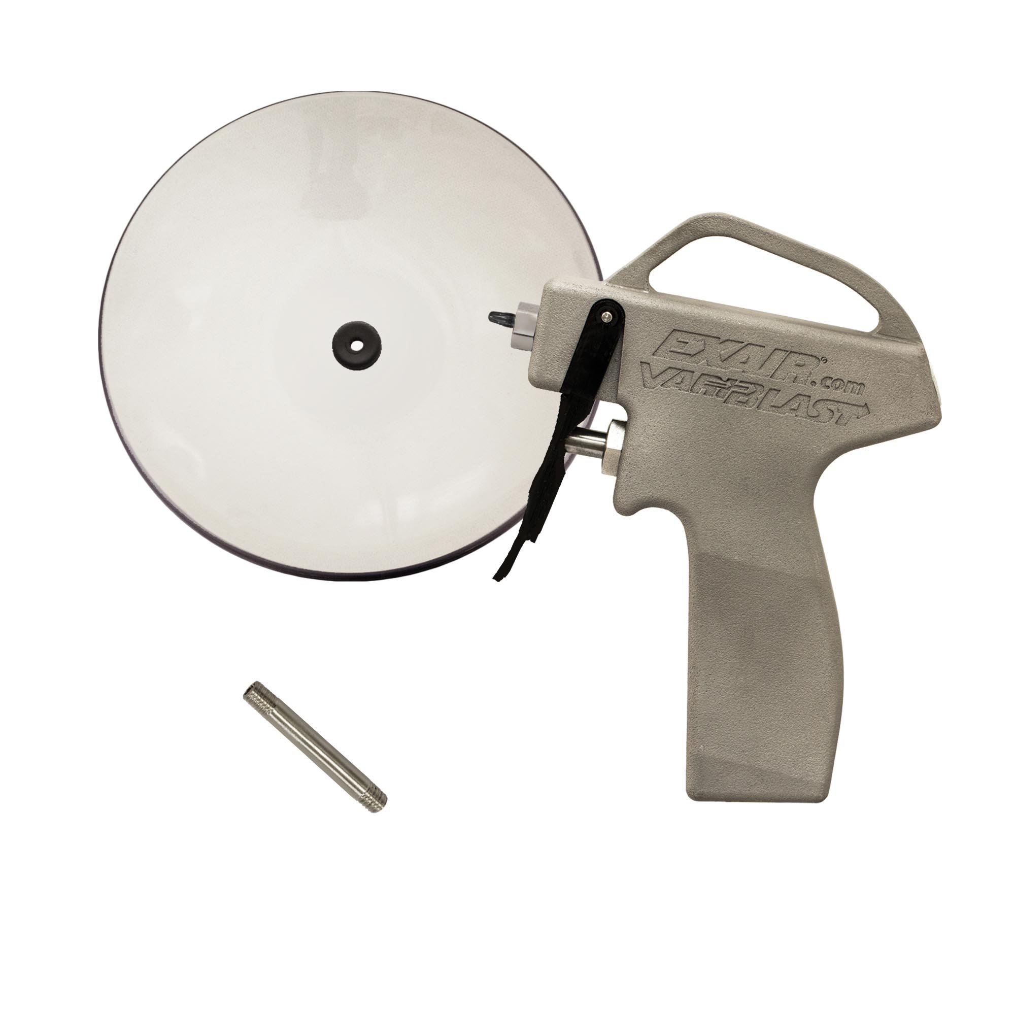 "VariBlast Compact Safety Air Gun with 6"" Extension Pipe and Chip Shield"
