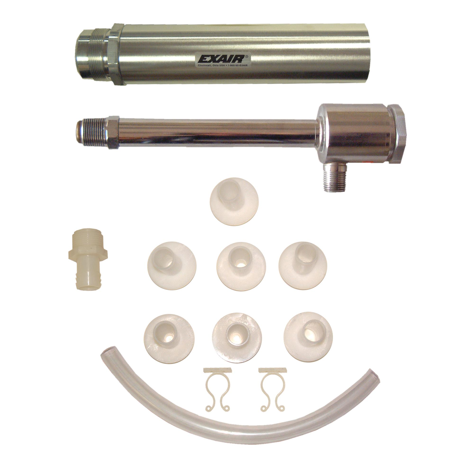 Vortex Tube cooling kits include generators, filter, muffler and fittings