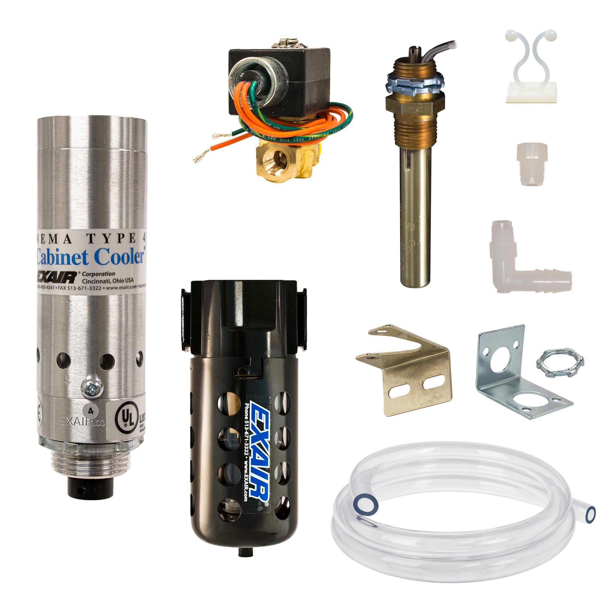 Model W4804 NEMA 4 275 Btu/hr Cabinet Cooler System with Thermostat Control