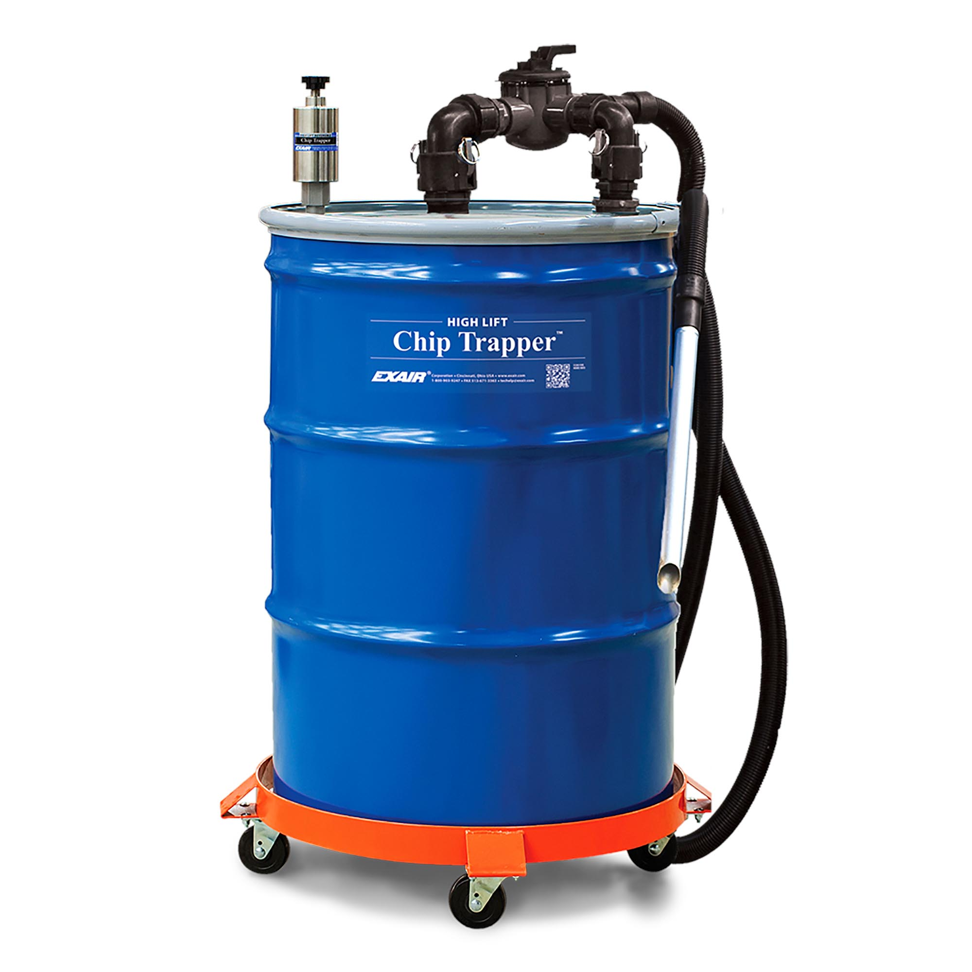 Model 6190 55 Gallon High Lift Chip Trapper Vacuum System