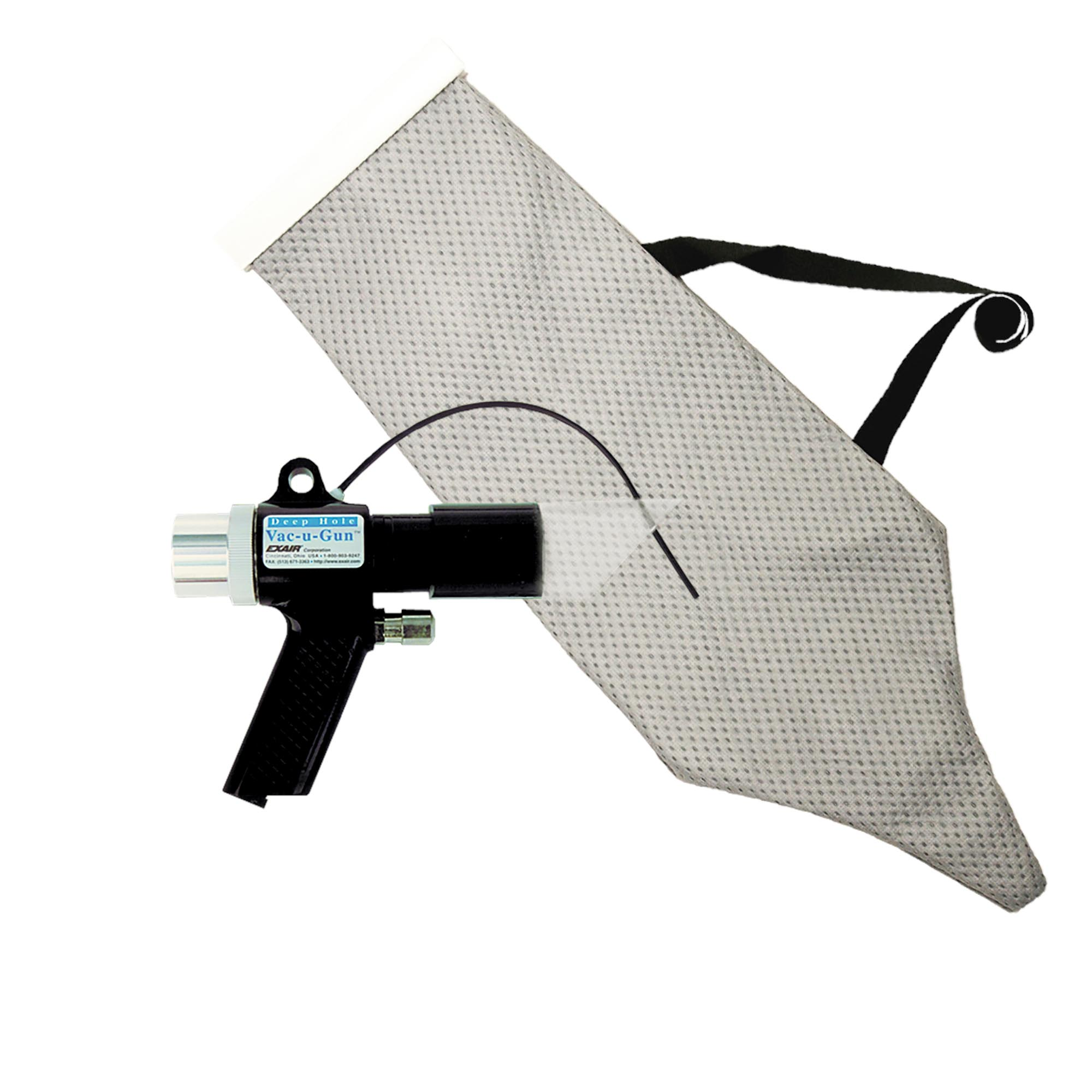 Model 6194 Vac-u-Gun with bag includes the reusable vacuum bag.