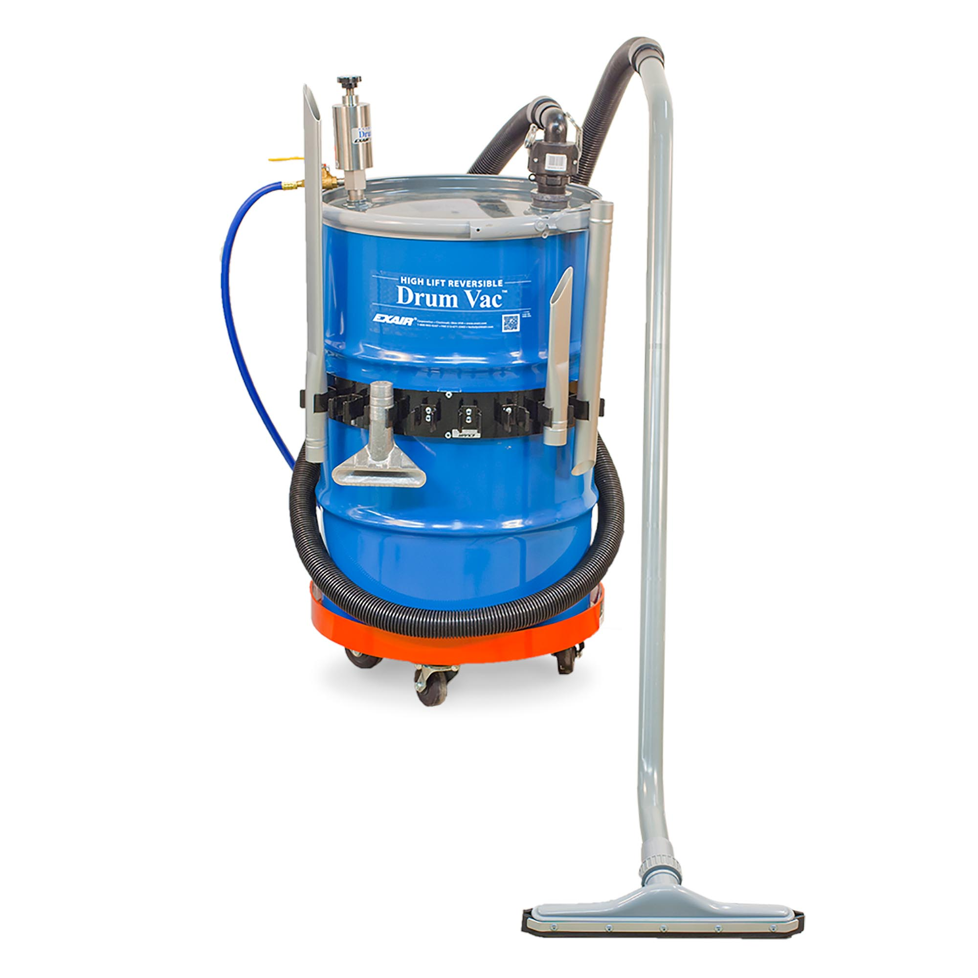 Model 6195-30 30 Gallon High Lift Reversible Drum Vac System