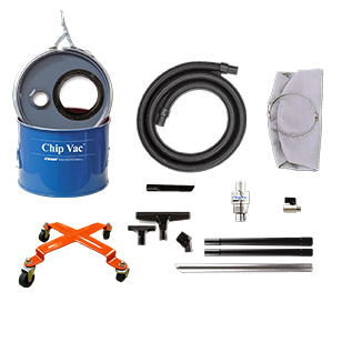 Model 6293-5 5 Gallon Deluxe Chip Vac System