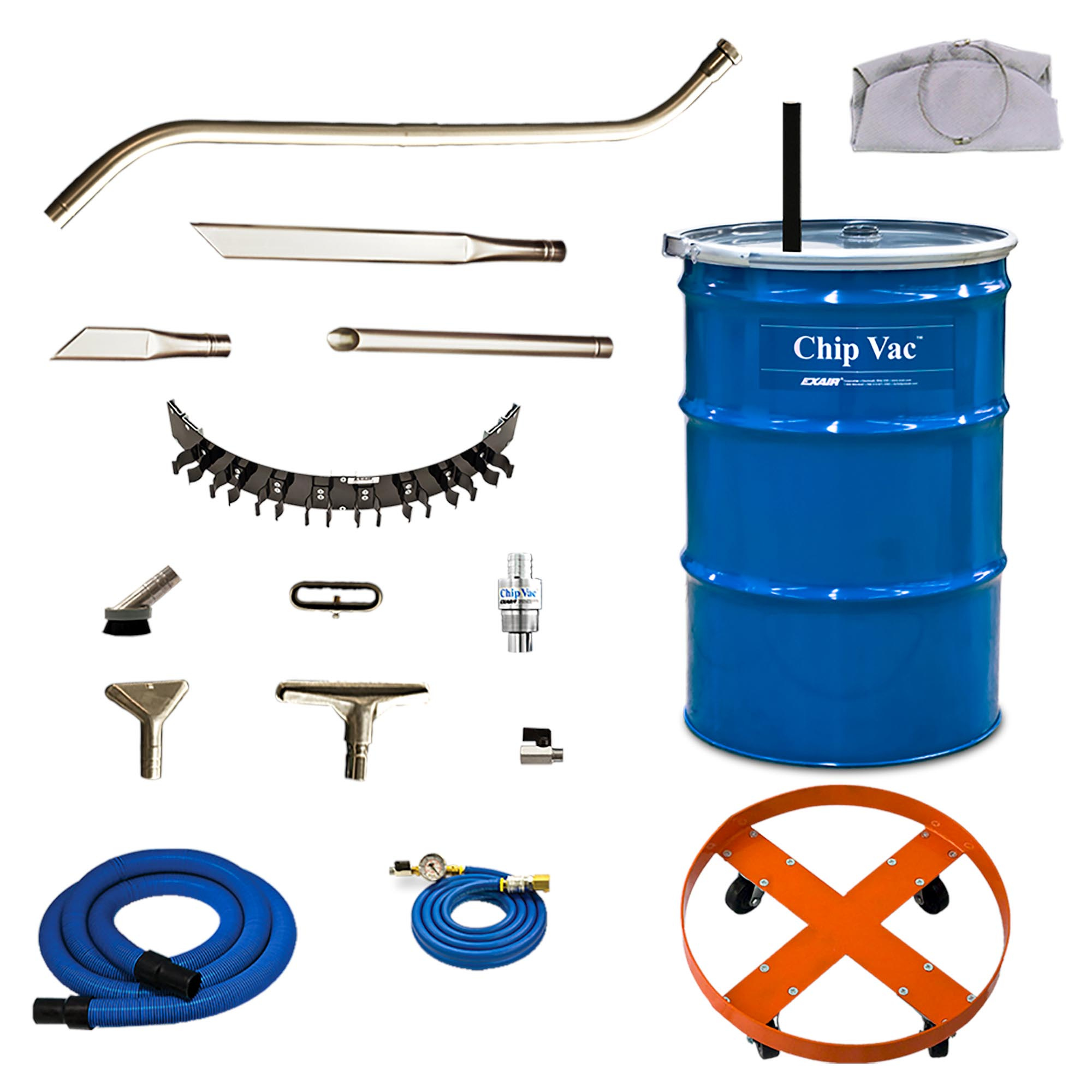 Model 6393-30 30 Gallon Premium Chip Vac System