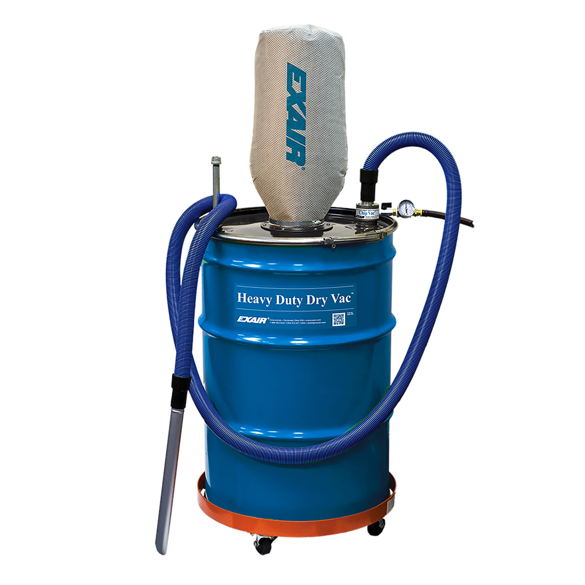 Model 6397 55 Gallon Premium Heavy Duty Dry Vac System