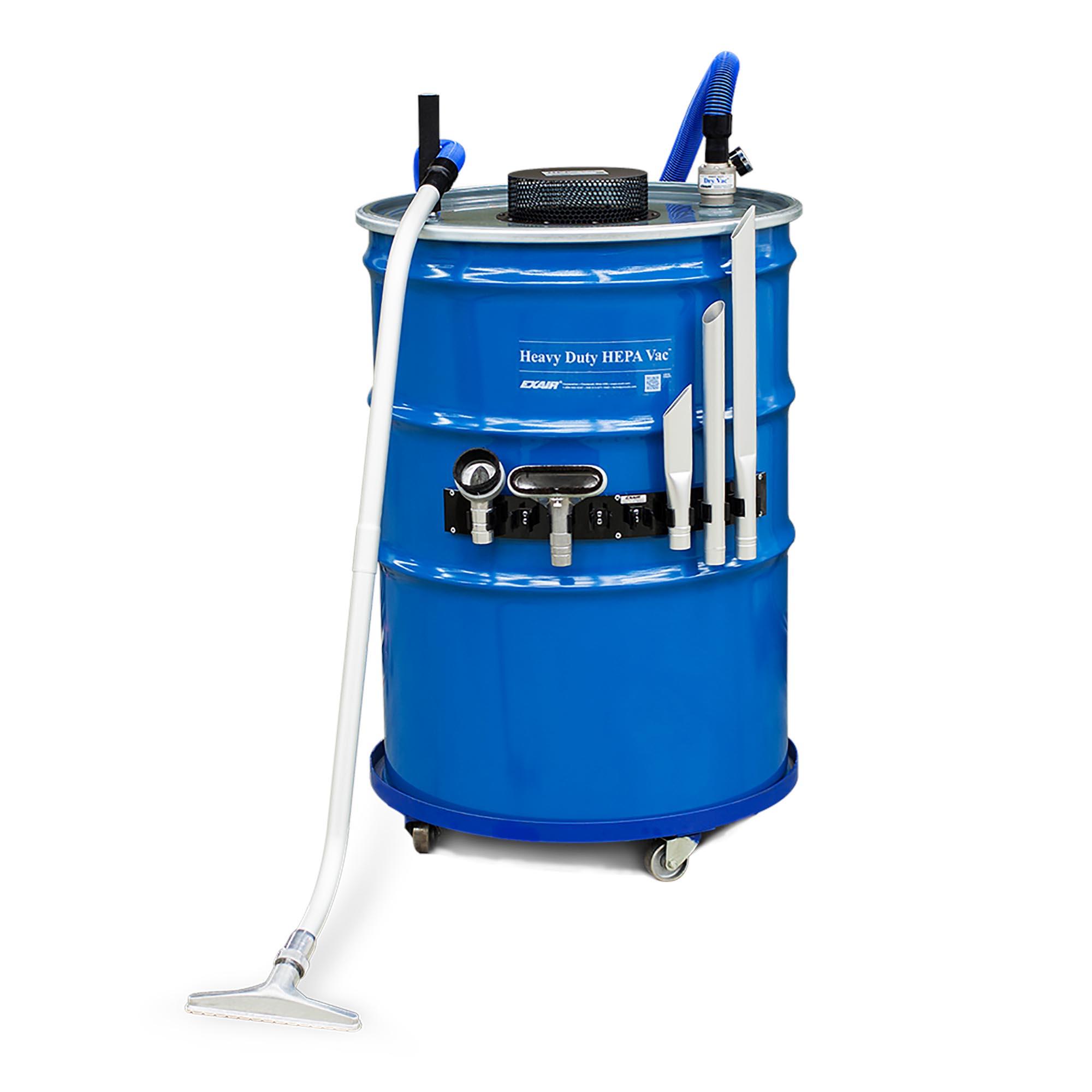 Model 6399-110 110 Gallon Premium Heavy Duty HEPA Vac System