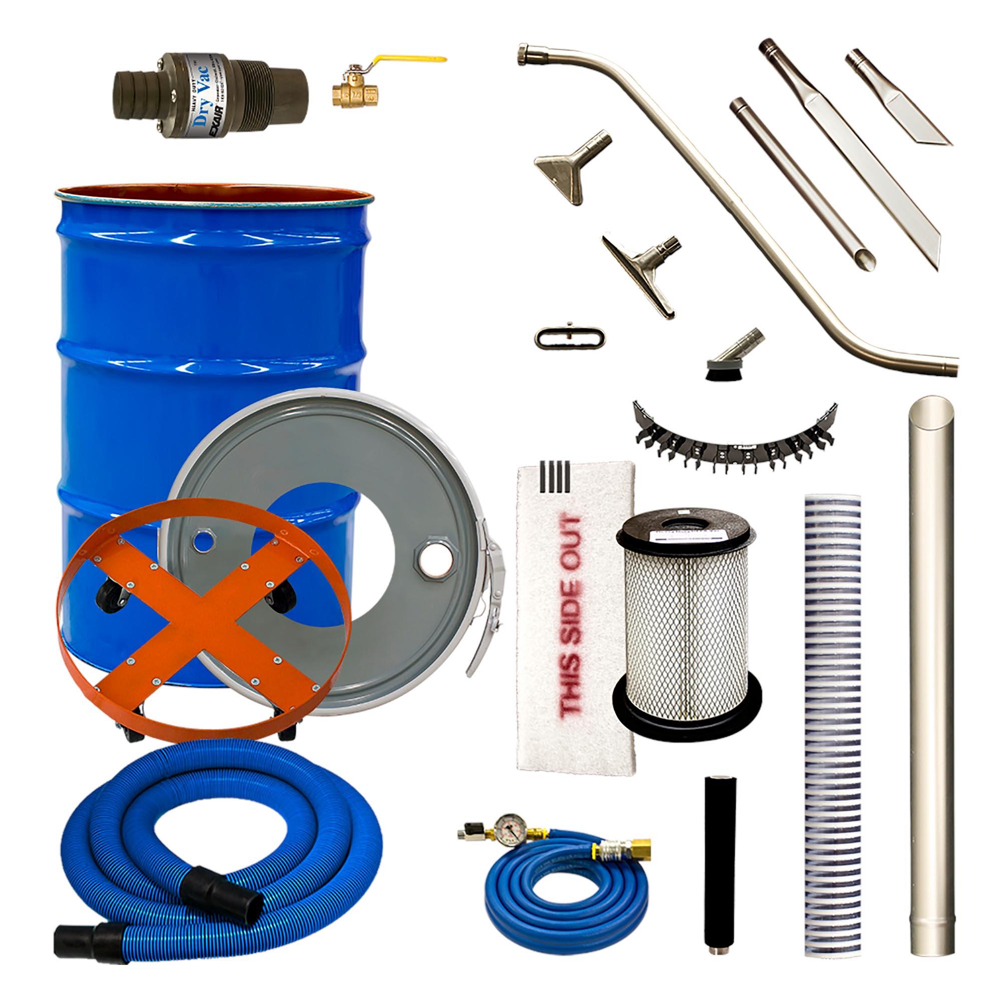 Model 6399-30 30 Gallon Premium Heavy Duty HEPA Vac System