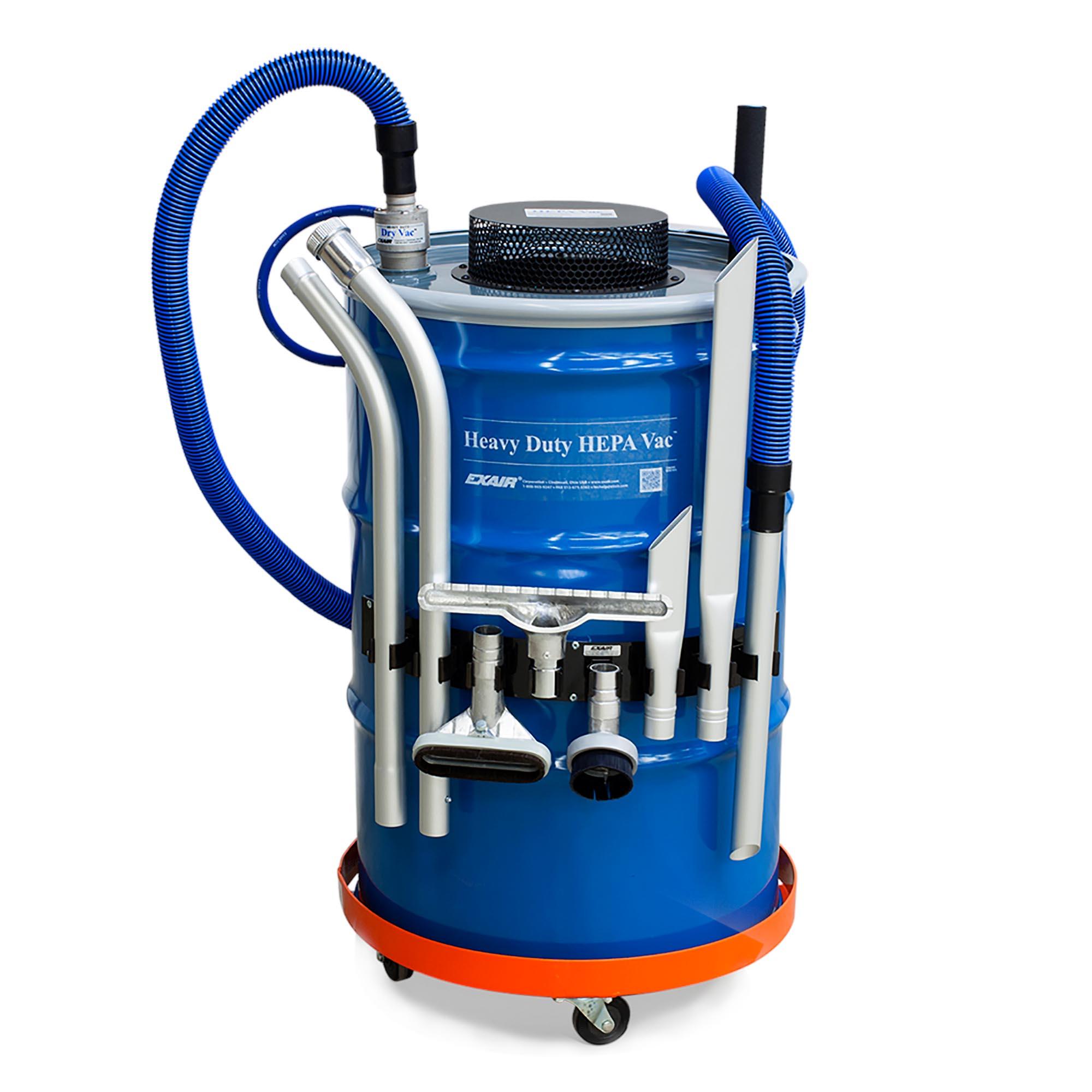 Model 6399 55 Gallon Premium Heavy Duty HEPA Vac System
