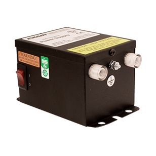 Single Voltage Power Supplies are available in either 115V or 230V and can have two or four outlets.