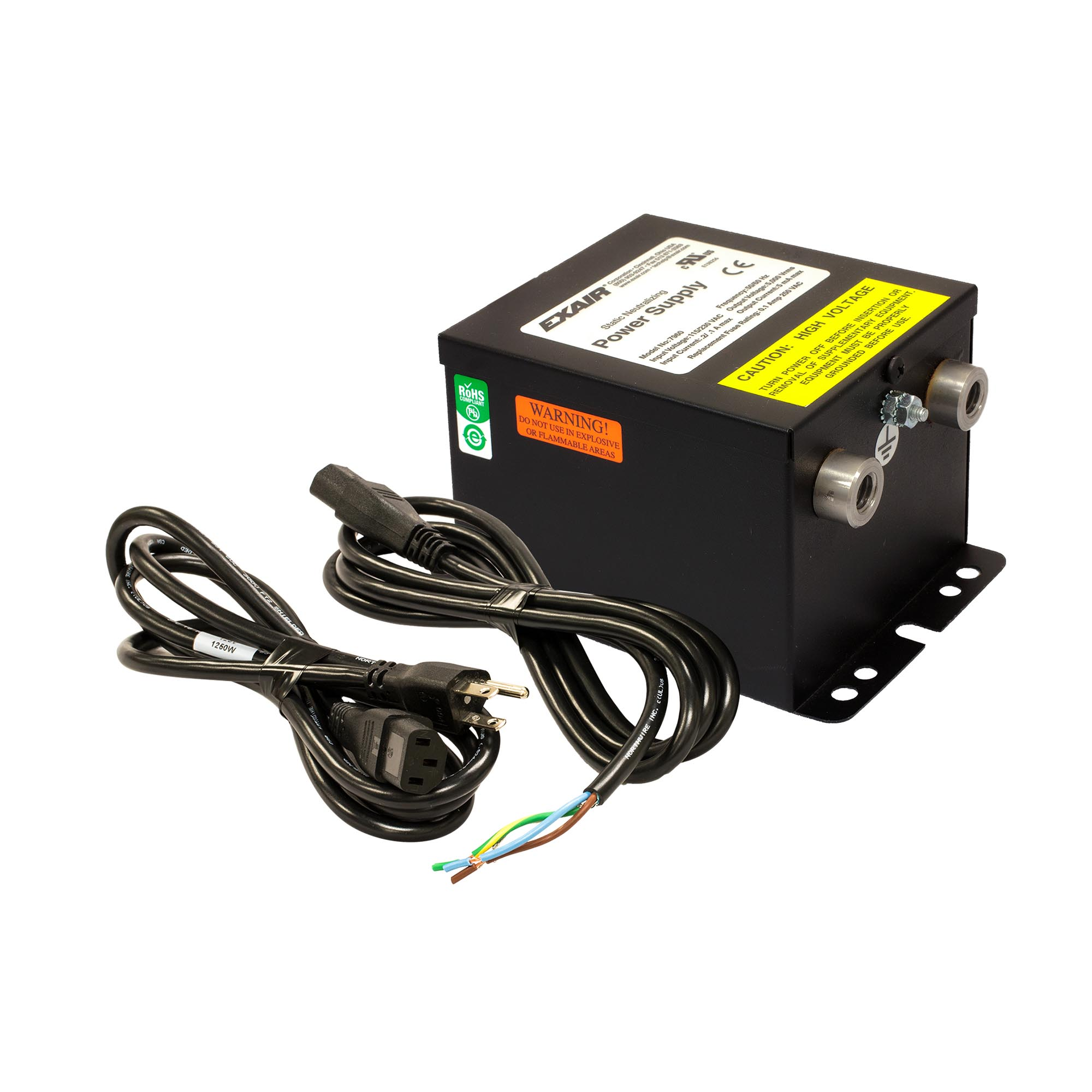 Model 7960 Gen4 Selectable Voltage Power Supply allows you to choose 115V or 230V input