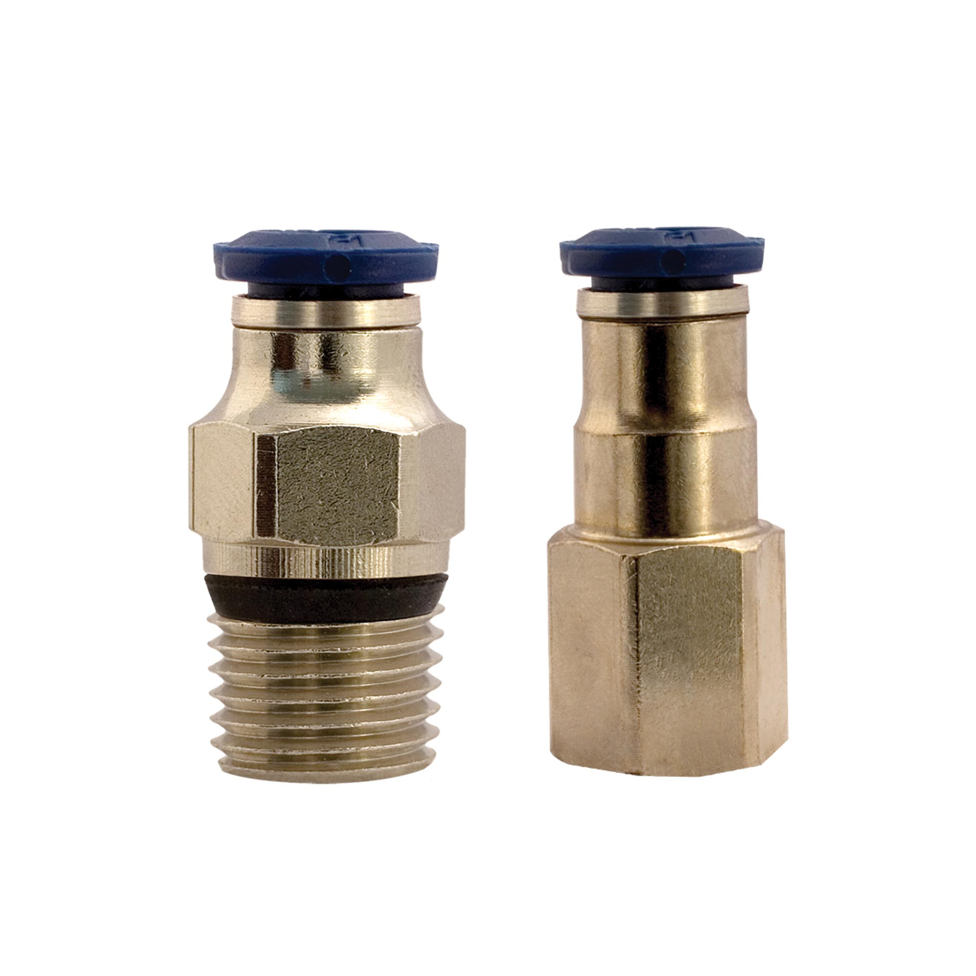 Model 900780 Push-In Connector, 3/8 Tube