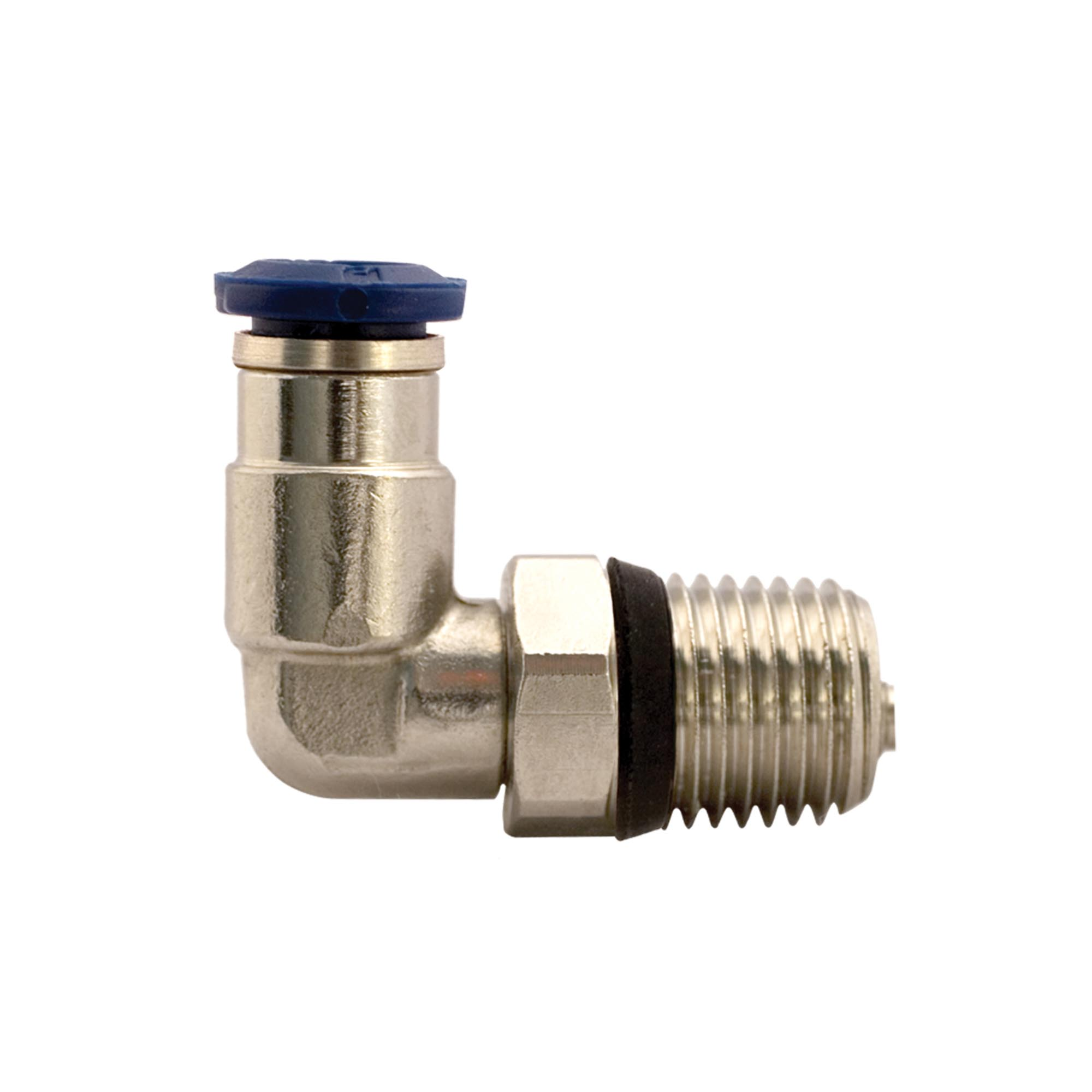 Model 900785 Push-In Swivel Elbow Connector, 3/8 Tube