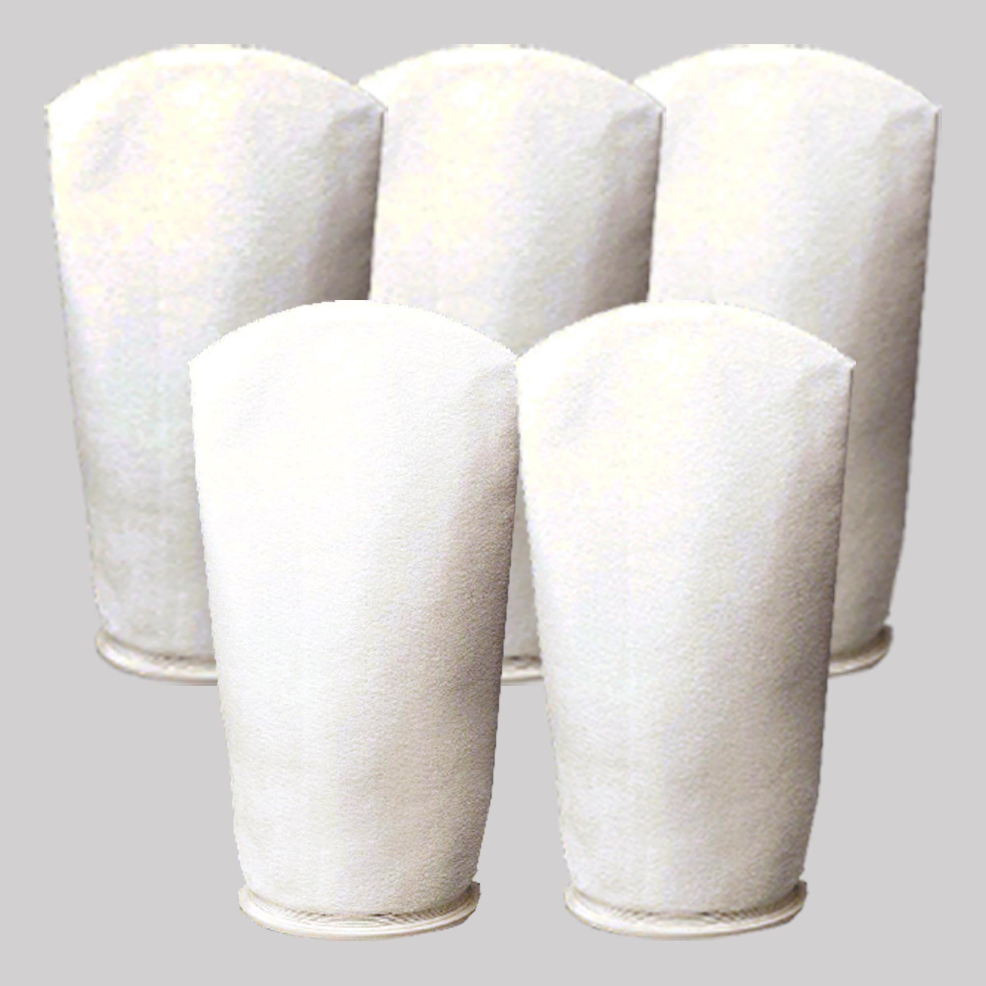 Filter bags are available in 1, 5, 25, 50, 100 and 200 micron mesh to suit the needs of your application.