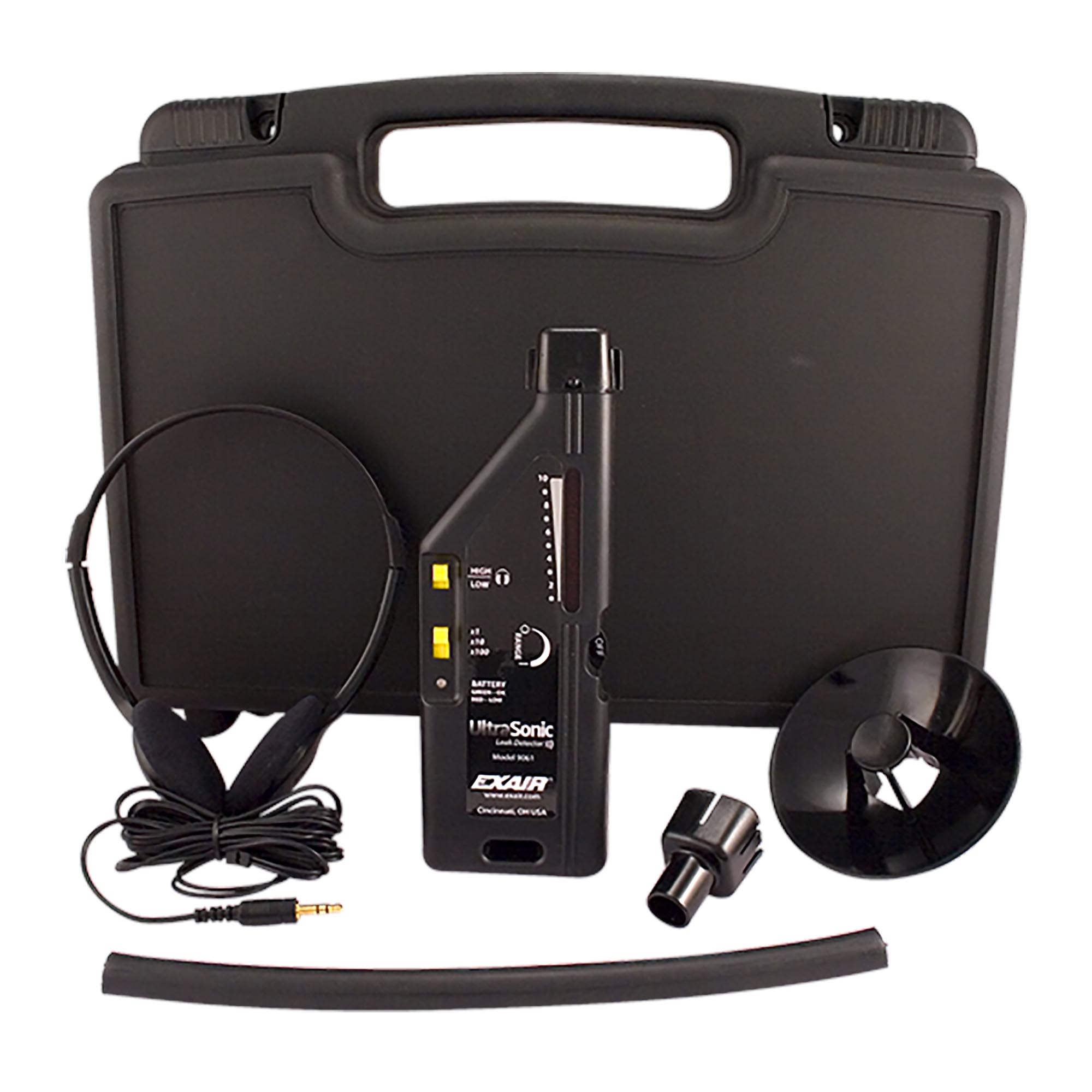 The full ULD system includes ULD, attachments, headphones, and 9 volt battery