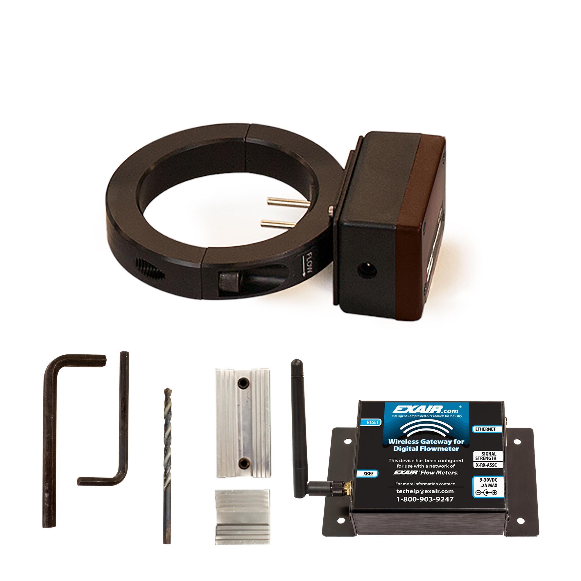 Digital Flowmeter Kit with Wireless Gateway for Wireless Capability