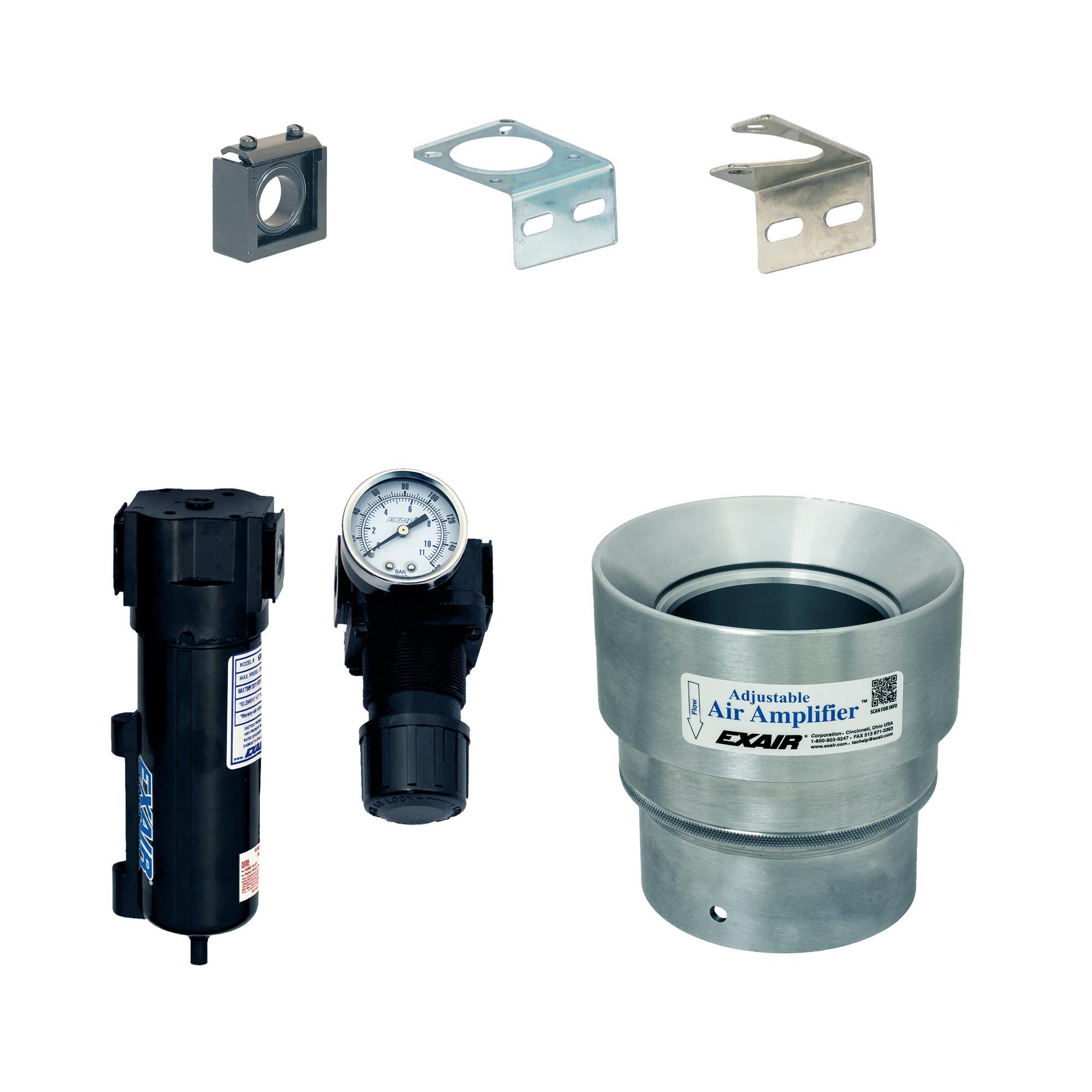 Aluminum Adjustable Air Amplifier Kit