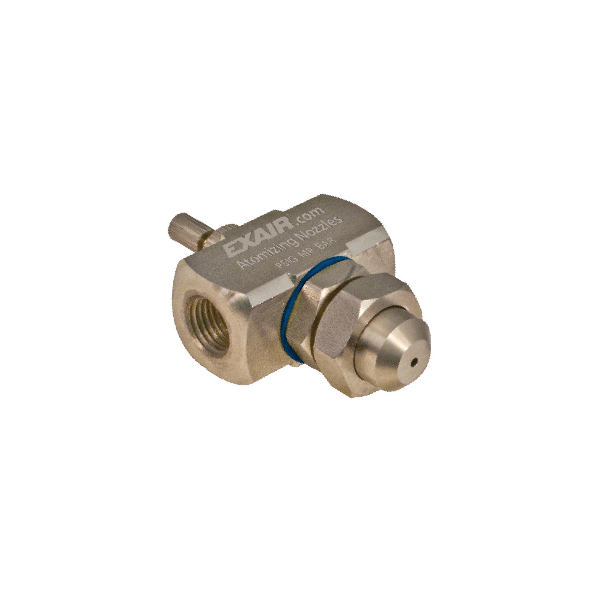 Model AN1020SS Internal Mix Narrow Angle Round Atomizing Nozzle