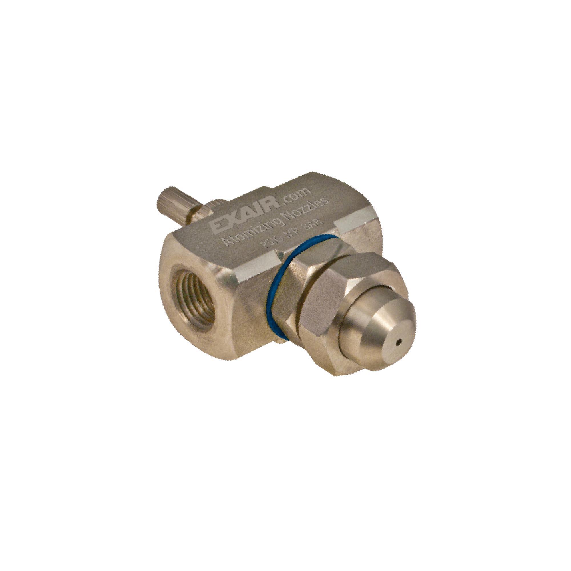 Model AN1030SS Internal Mix Narrow Angle Round Atomizing Nozzle