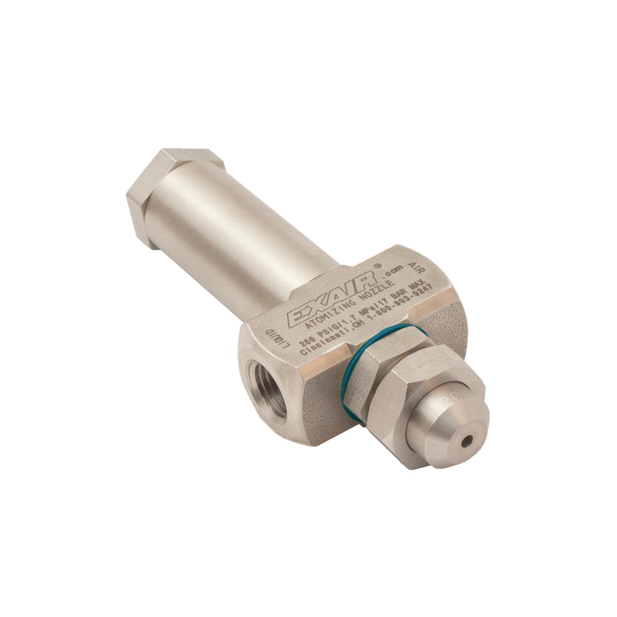 Model AN2040SS No Drip Internal Mix Narrow Angle Round Pattern Atomizing Nozzle