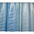 This transparent conveying hose is a spiral reinforced PVC material used for a variety of material transfer applications. Available in 10', 20', 30', 40' and 50' lengths.