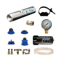 Model 812008 8.4 SCFM E-Vac High Vacuum Generator Deluxe Kit (Non-Porous)