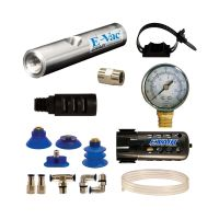 Model 812023H 23.1 SCFM E-Vac High Vacuum Generator Deluxe Kit with Standard Muffler (Non-Porous)